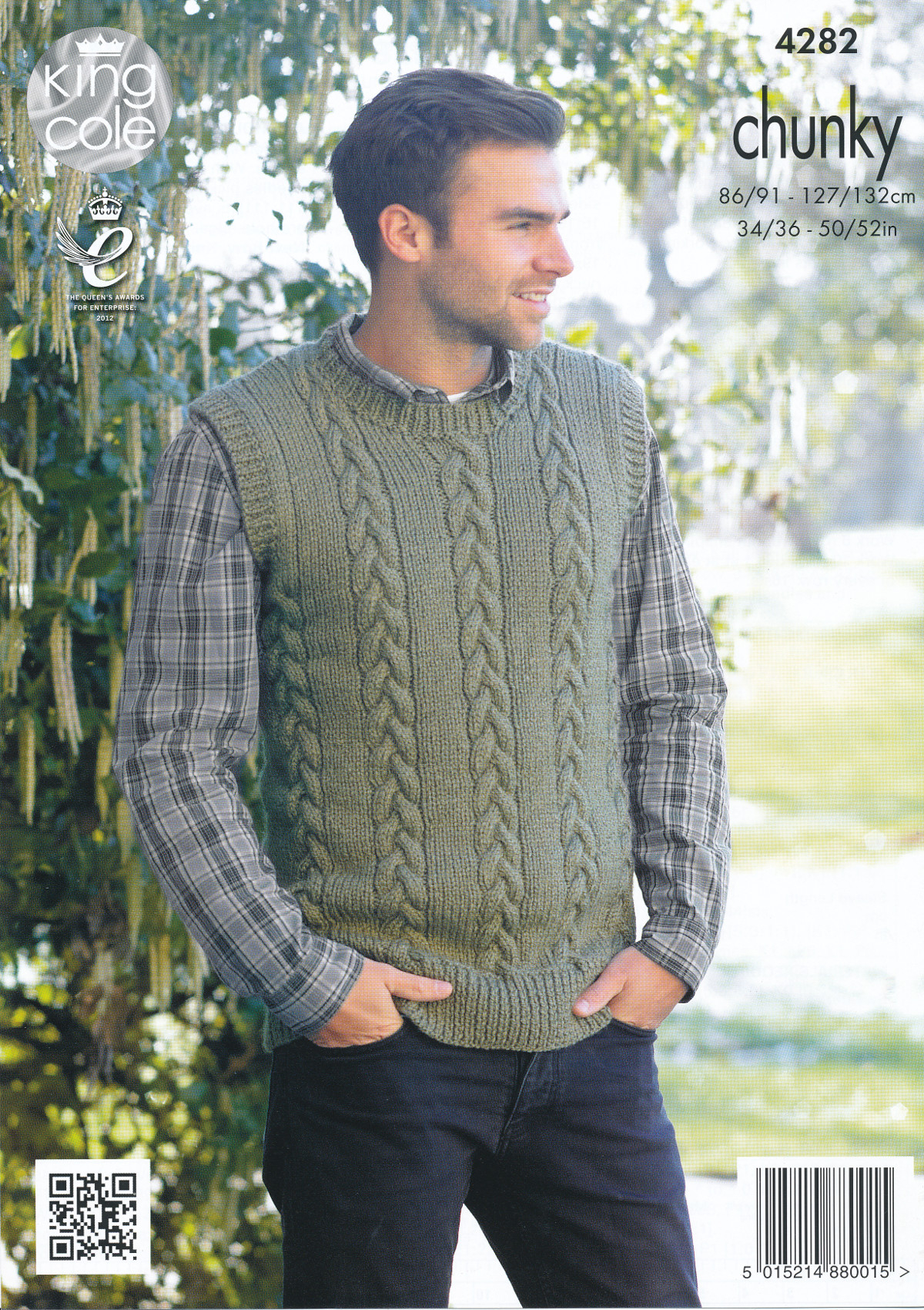 Knit Sweaters Patterns Details About Mens Chunky Knitting Pattern King Cole Cable Knit Sweater Jumper Pullover 4282