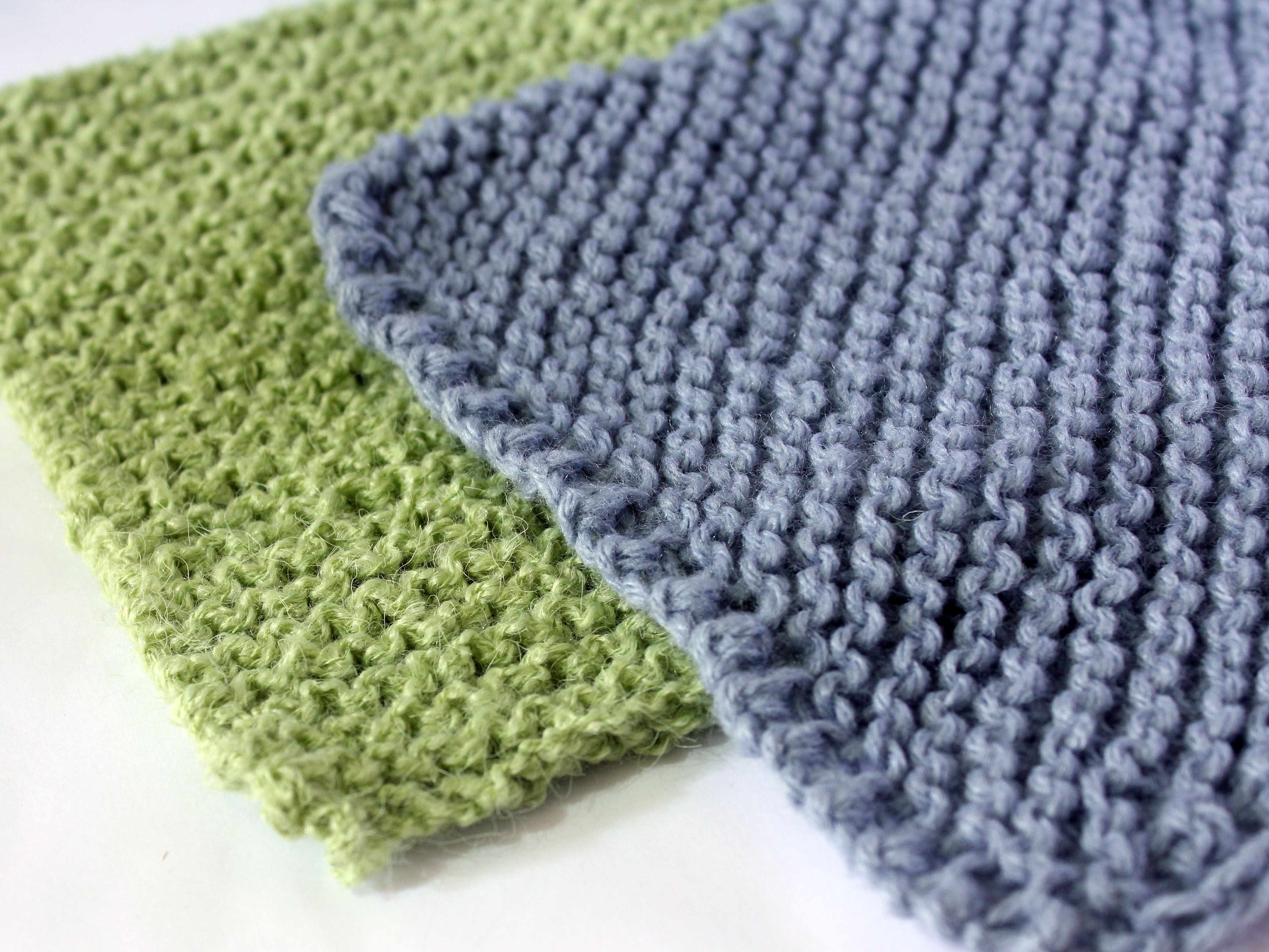 Knit Washcloth Patterns How To Knit A Washcloth 11 Steps With Pictures Wikihow