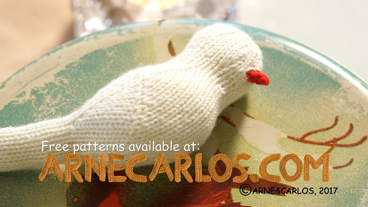 Knitted Bird Pattern How To Crochet The Beak Of Our Knitted Birds Arne Carlos