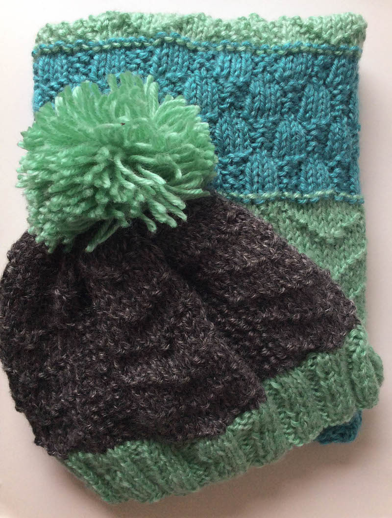 Knitted Bird Pattern Knit The Bird Tracks Beanie With 7 More Free Patterns For Knots Of