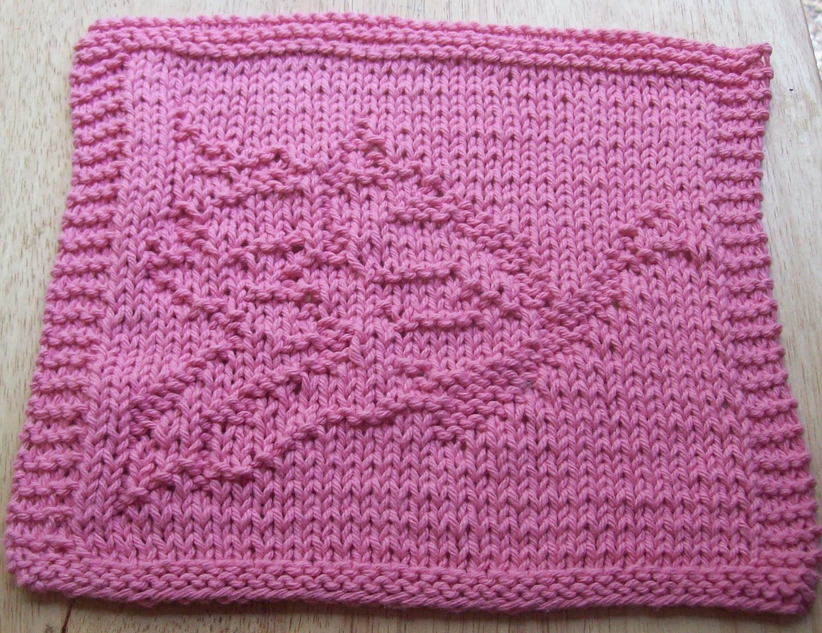 Knitted Butterfly Dishcloth Pattern Digknitty Designs Another Butterfly Knit Dishcloth Pattern
