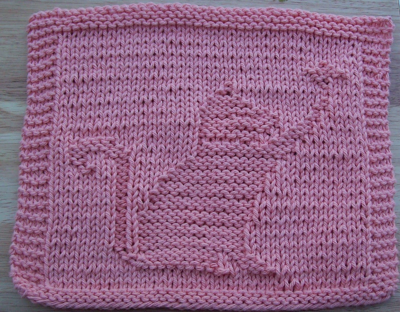 Knitted Butterfly Dishcloth Pattern Digknitty Designs Cat With Butterfly Knit Dishcloth Pattern