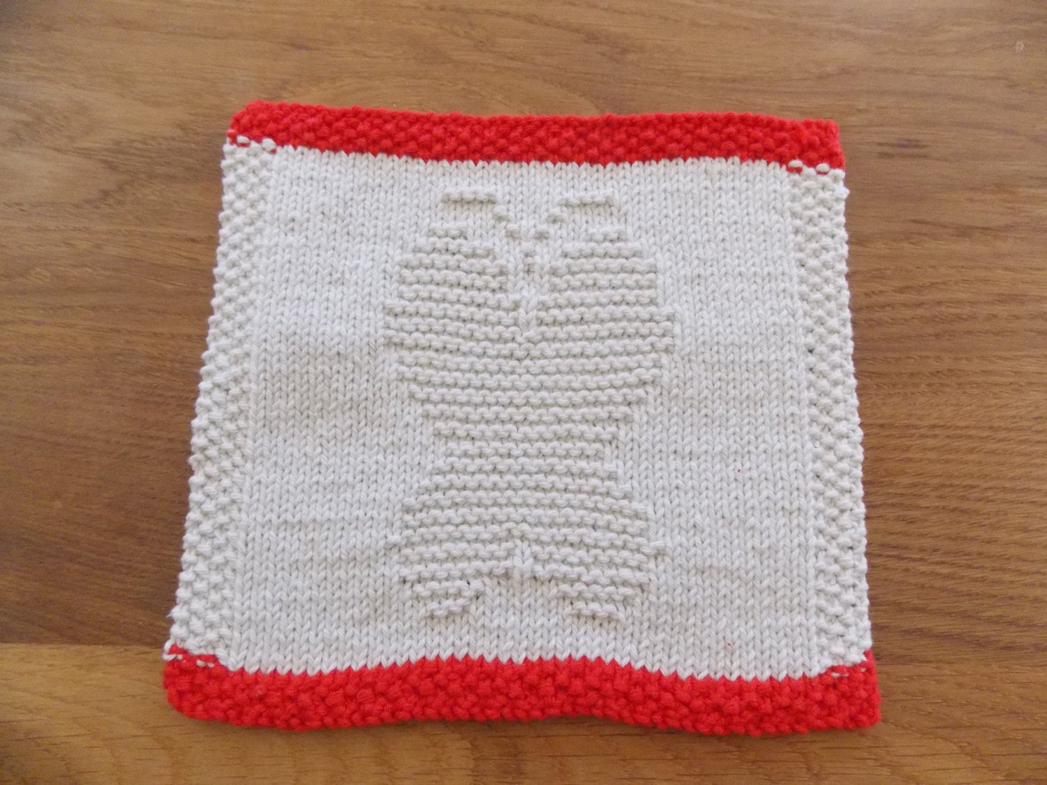 Knitted Butterfly Dishcloth Pattern Dishcloth Knitting Pattern Butterfly