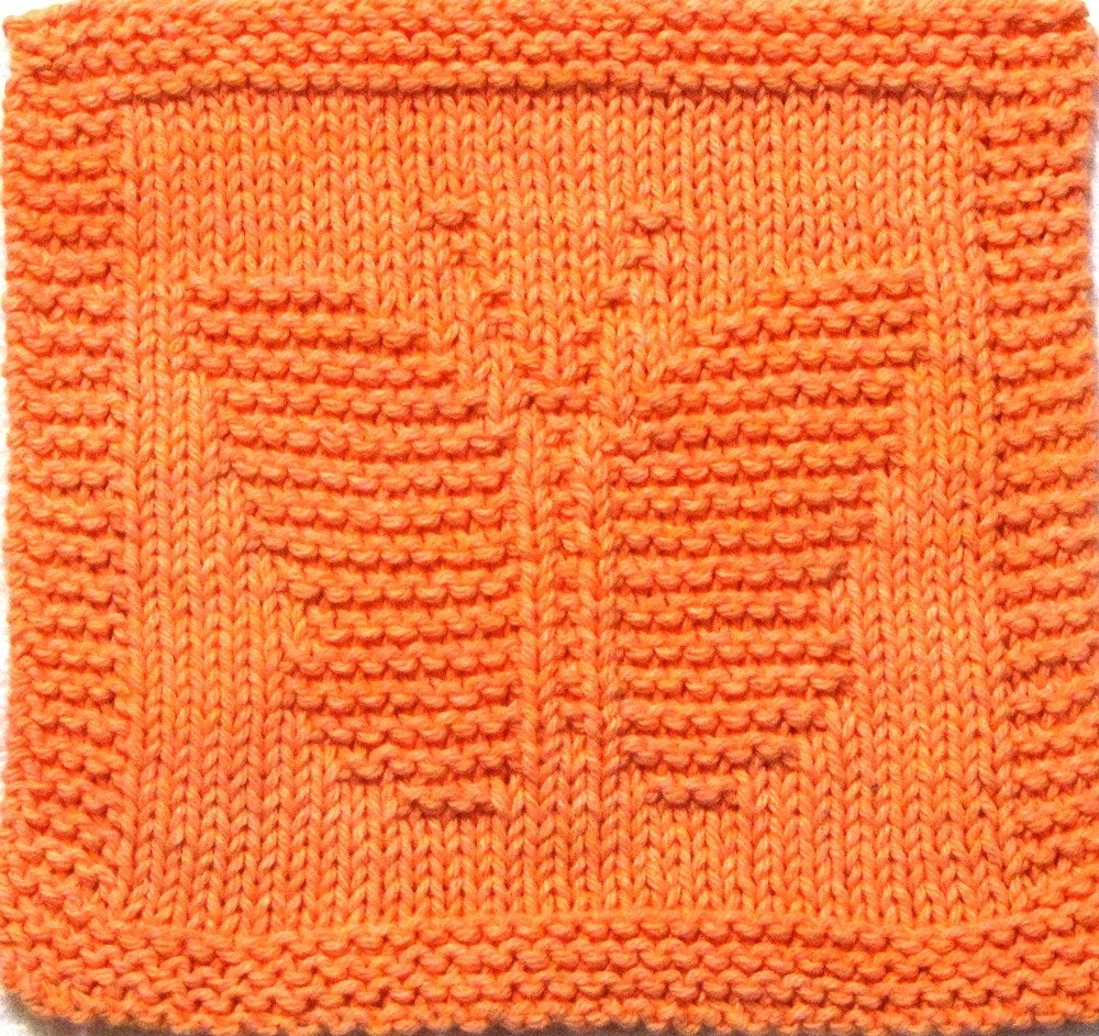 Knitted Butterfly Dishcloth Pattern Knitting Cloth Pattern Butterfly Pdf