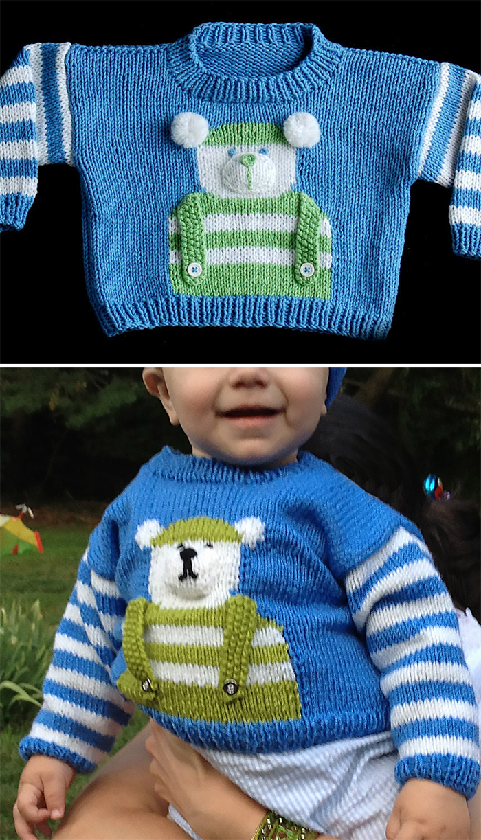 Knitted Childrens Sweaters Free Patterns Ba And Toddler Sweater Knitting Patterns In The Loop Knitting