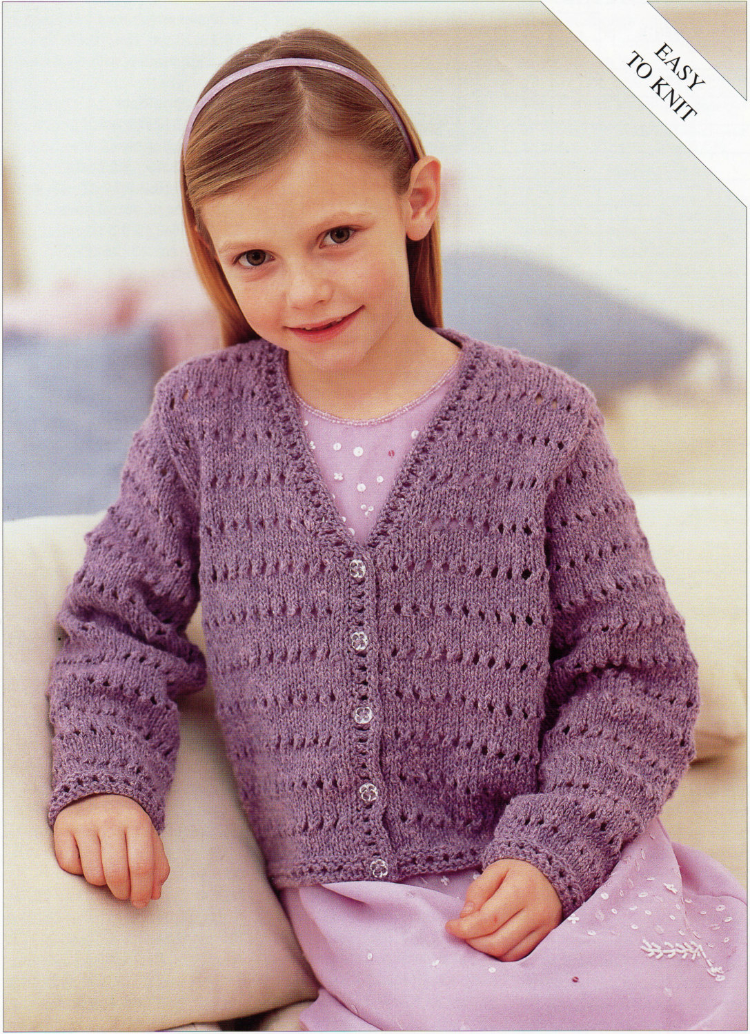 Knitted Childrens Sweaters Free Patterns Girls Knitting Pattern Girls Cardigan Childs Cardigan Easy Knit V Neck Cardigan 22 32inch Dk Childrens Knitting Pattern Pdf Instant Download