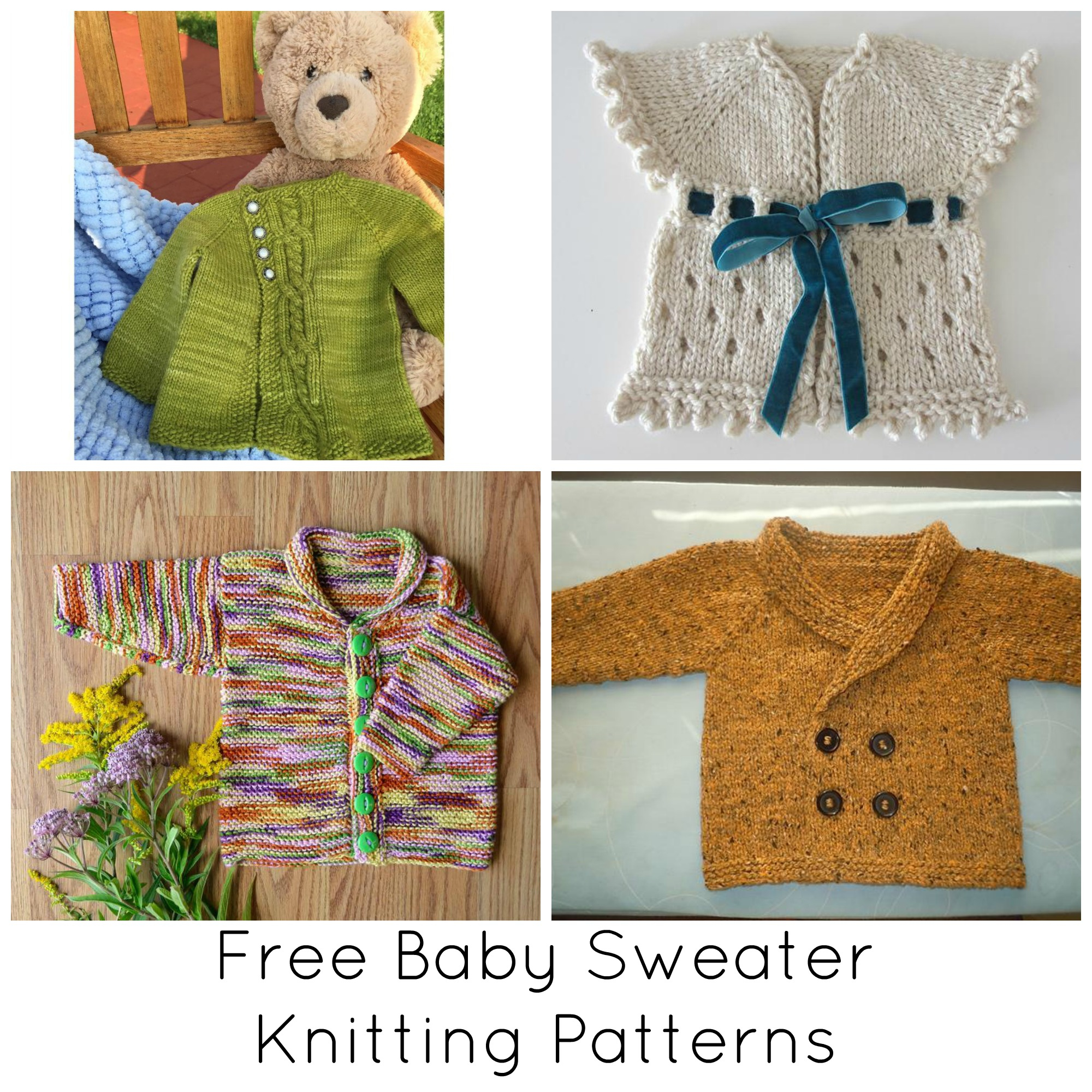 Knitted Childrens Sweaters Free Patterns Our Favorite Free Ba Sweater Knitting Patterns