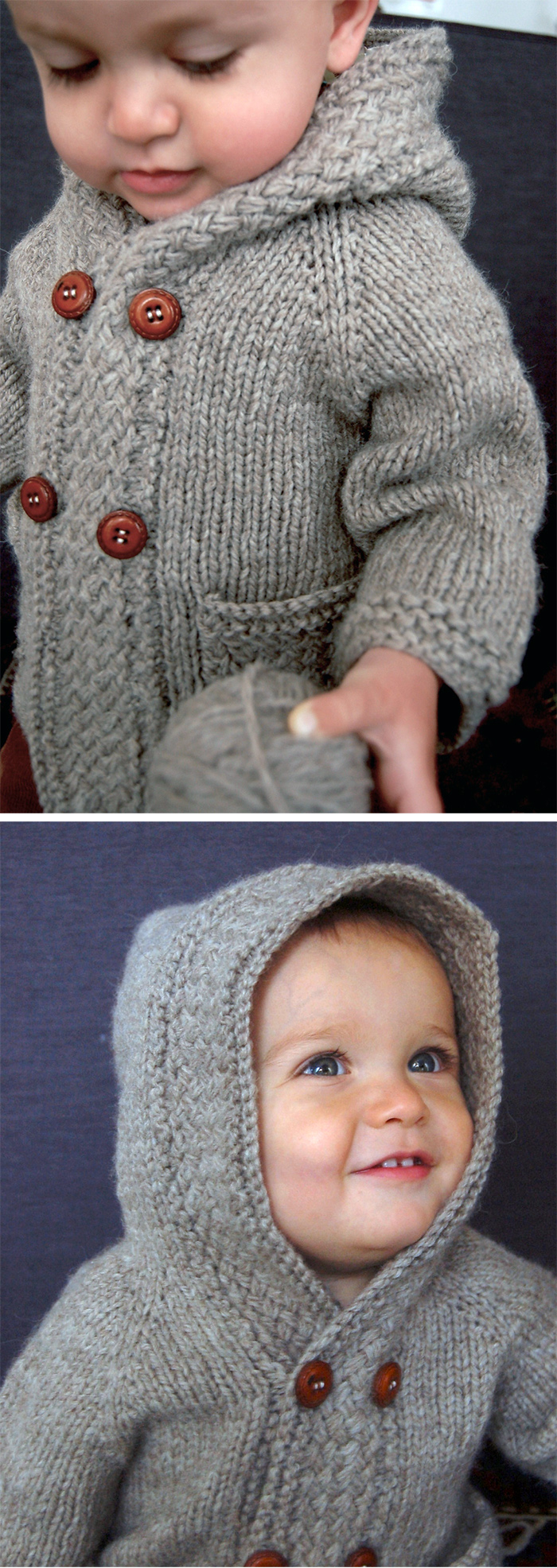 Knitted Coat Patterns Coats And Jackets For Little Ones Knitting Patterns In The Loop