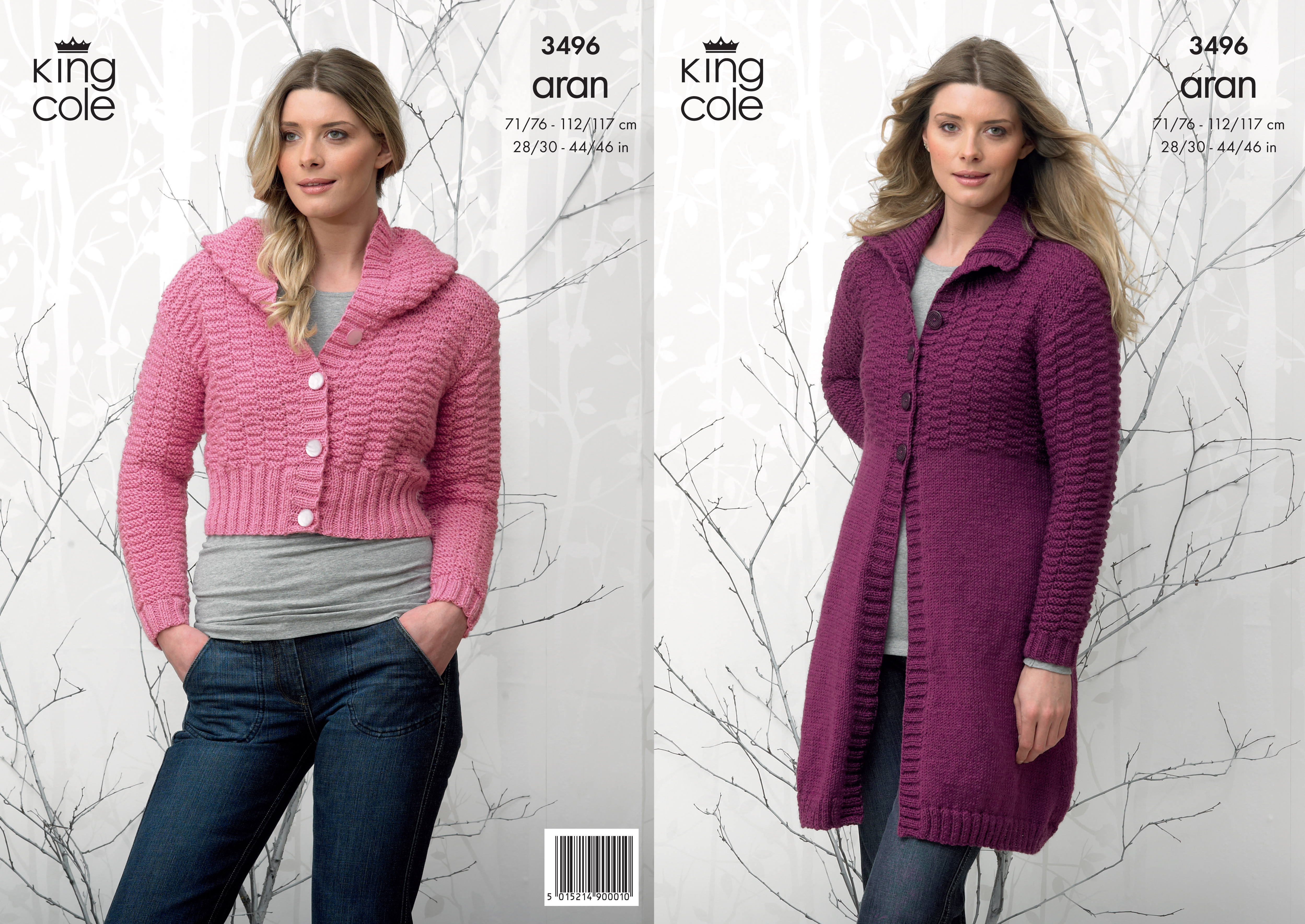 Knitted Coat Patterns Details About Ladies Aran Knitting Pattern Textured Jacket Hooded Cardigan King Cole 3496