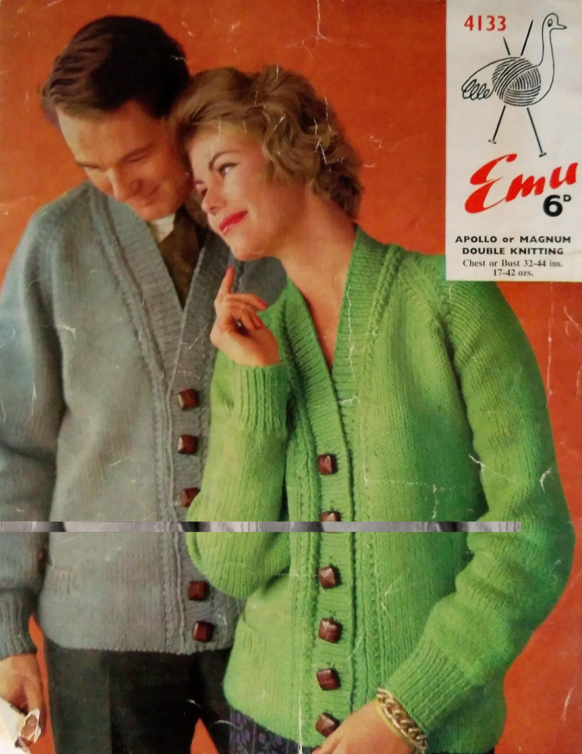 Knitted Coat Patterns Emu His Hers Knitted Jackets Vintage Knitted Jackets Knitting Patterns Knitted Cardigans Collectable Knitting Knitting Vintage Knits