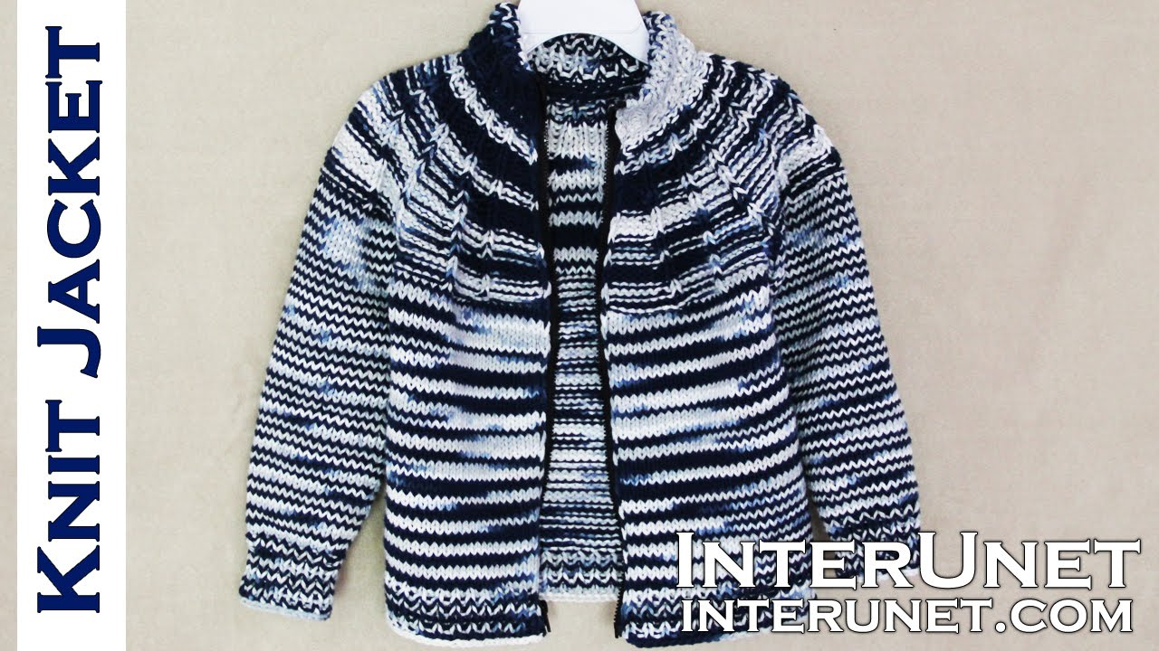 Knitted Coat Patterns Jacket Knitting Pattern Knit A Jacket For A Child
