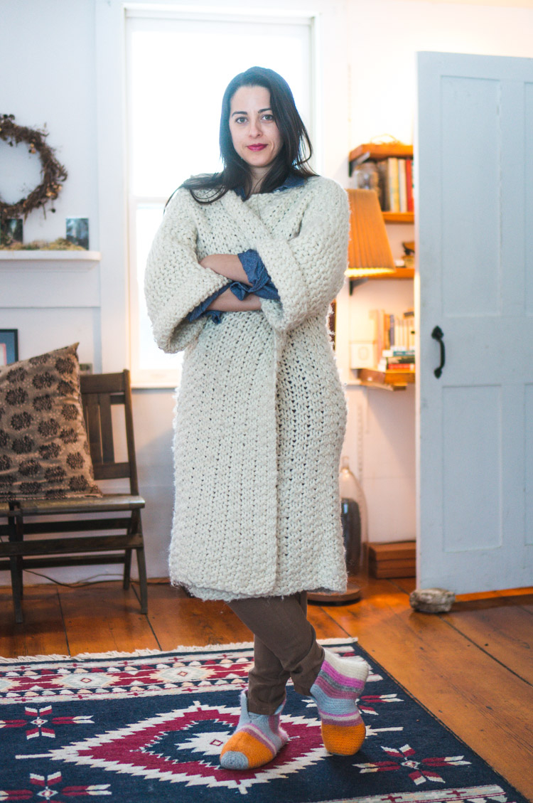 Knitted Coat Patterns Knitted Cross Country Coat Wool The Gang Closet Case Patterns