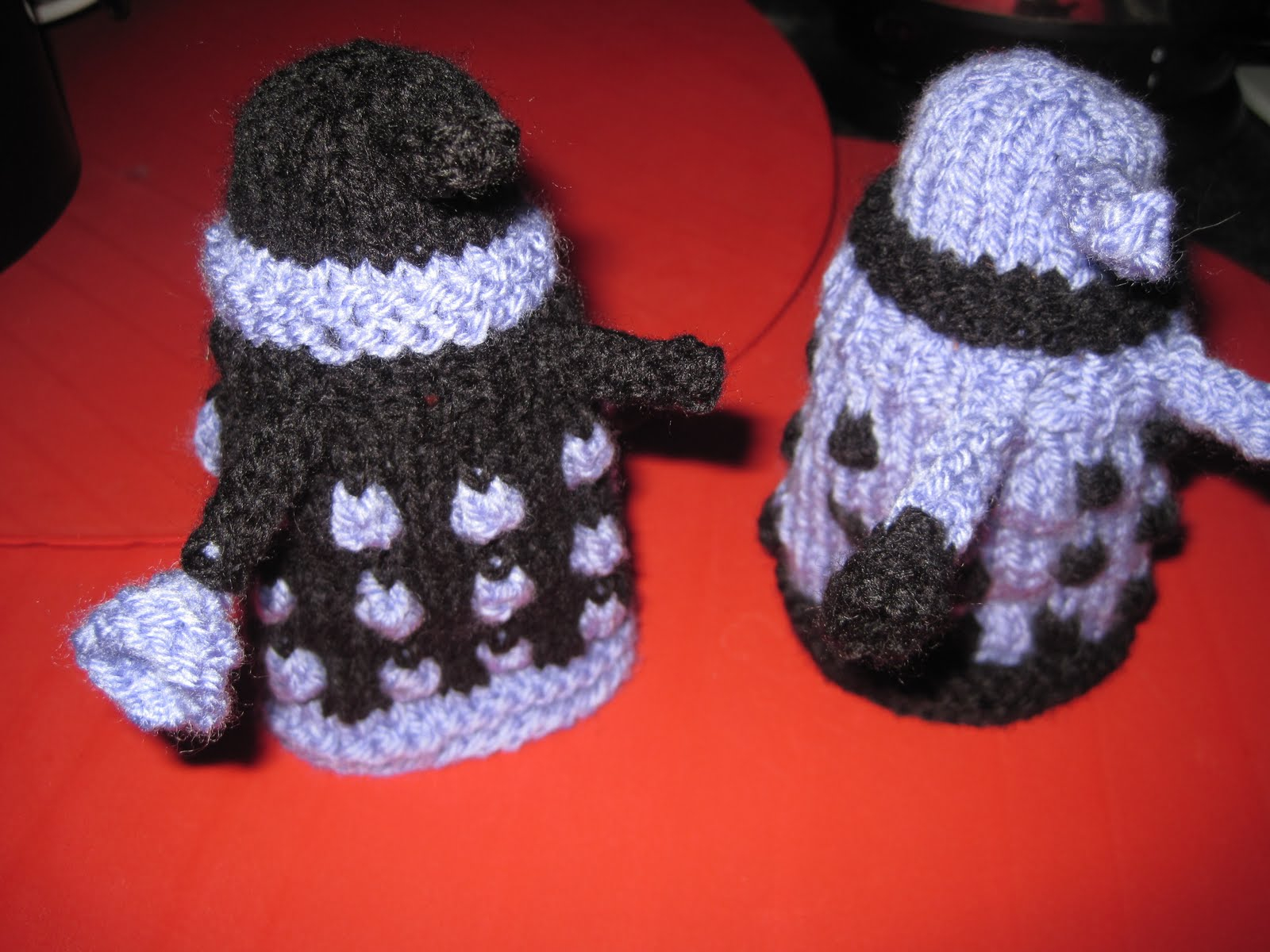 Knitted Dalek Pattern Doctor Who Knitting Patterns In The Loop Knitting
