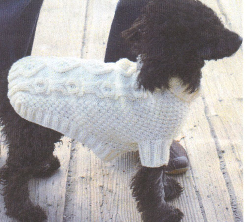Knitted Dog Coat Pattern Biscuits And Bones Dog Coat Pattern