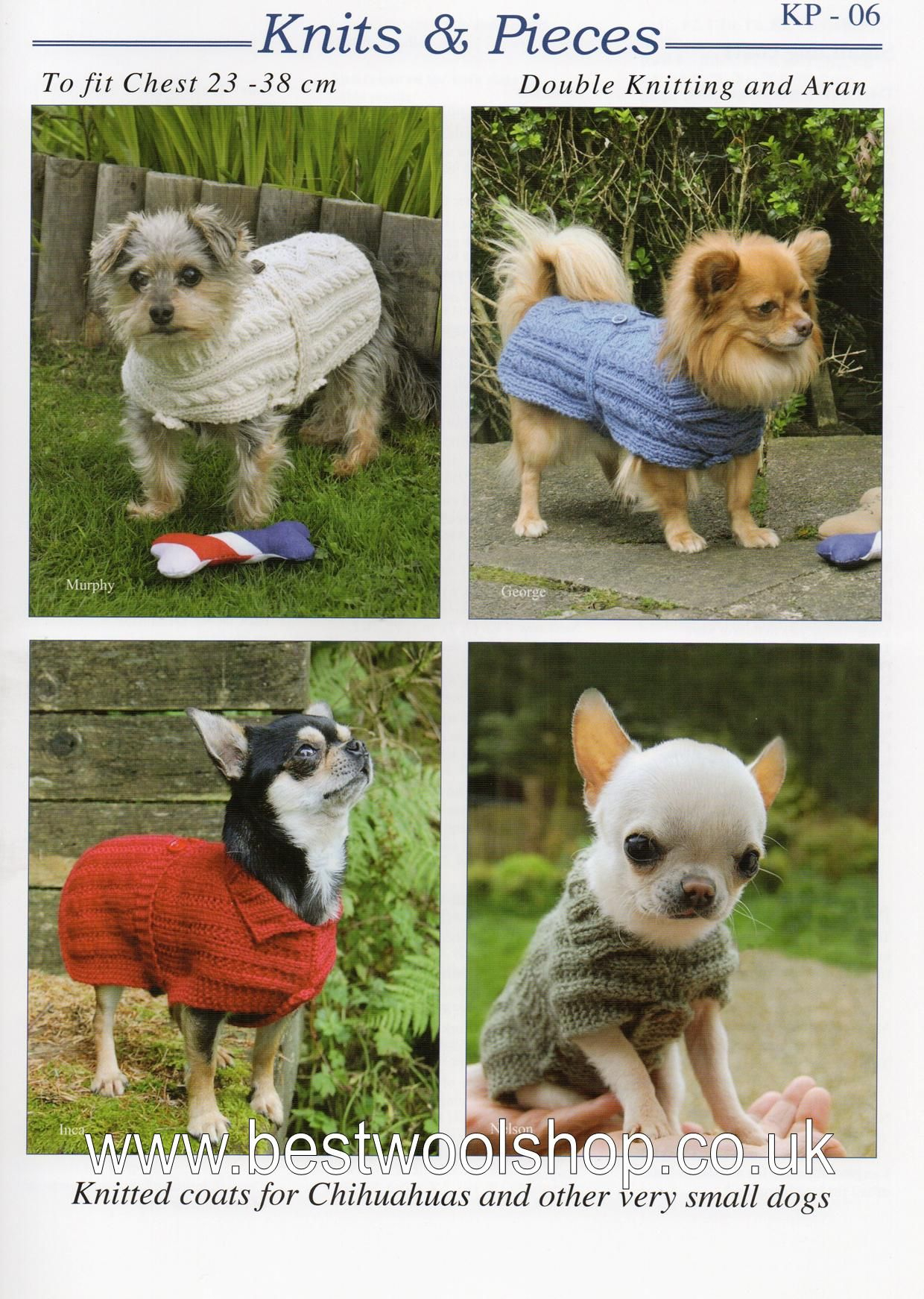 Knitted Dog Coat Pattern Kp 06 Knits Pieces Dog Coat Knitting Pattern Sandra Polley