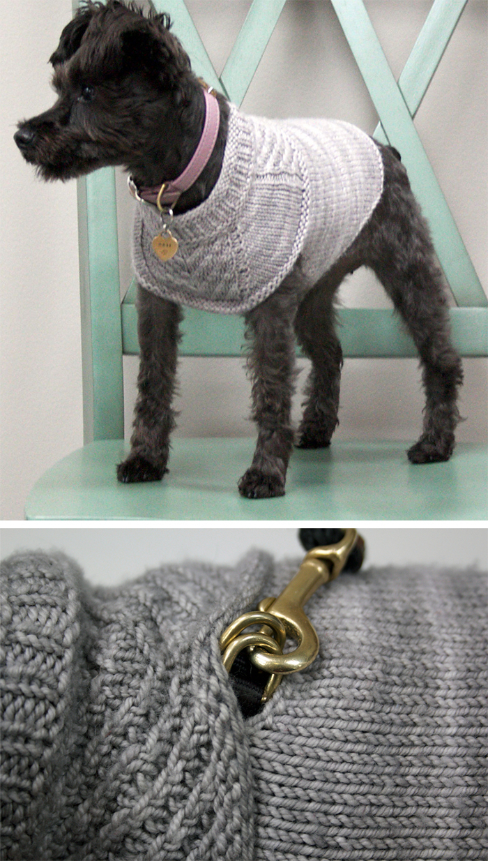 Knitted Dog Coat Pattern Pet Knitting Patterns In The Loop Knitting