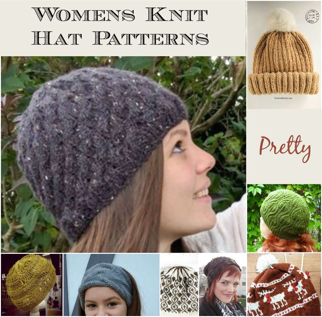 Knitted Hats Patterns 12 Best Knit Hat Patterns For Women This Fall