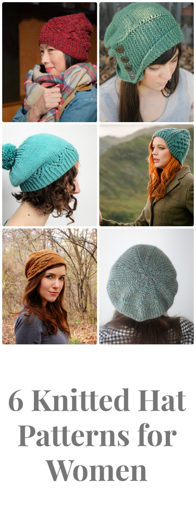 Knitted Hats Patterns 6 Knitted Hat Patterns For Women The Fibre Co