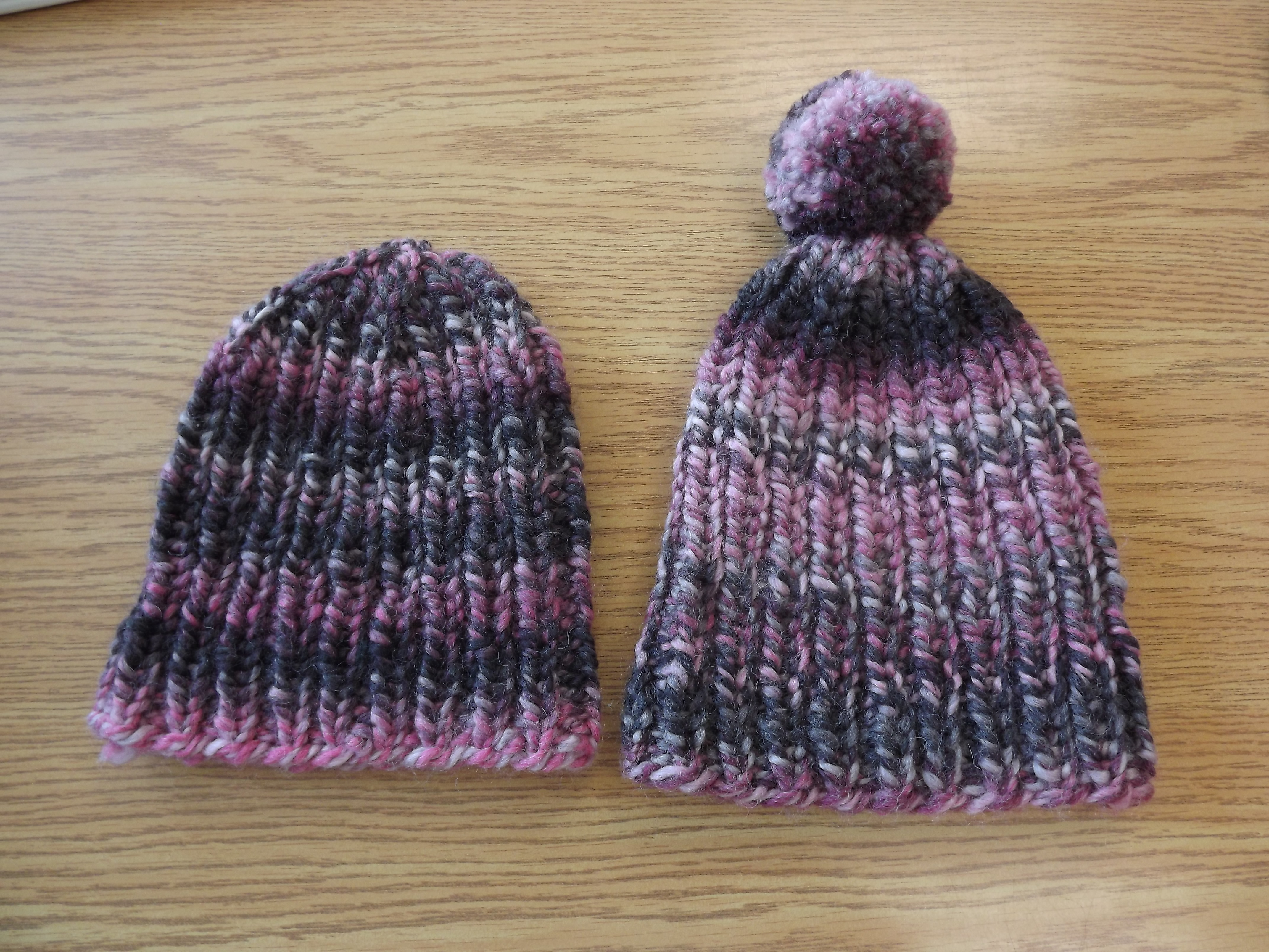 Knitted Hats Patterns Free Chunkybulky Ribbed Hat Pattern True North Yarn Co
