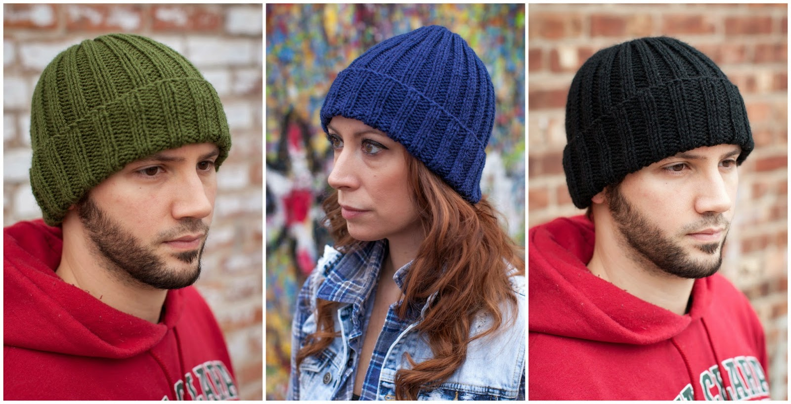Knitted Hats Patterns She Makes Hats Sandoval Hat