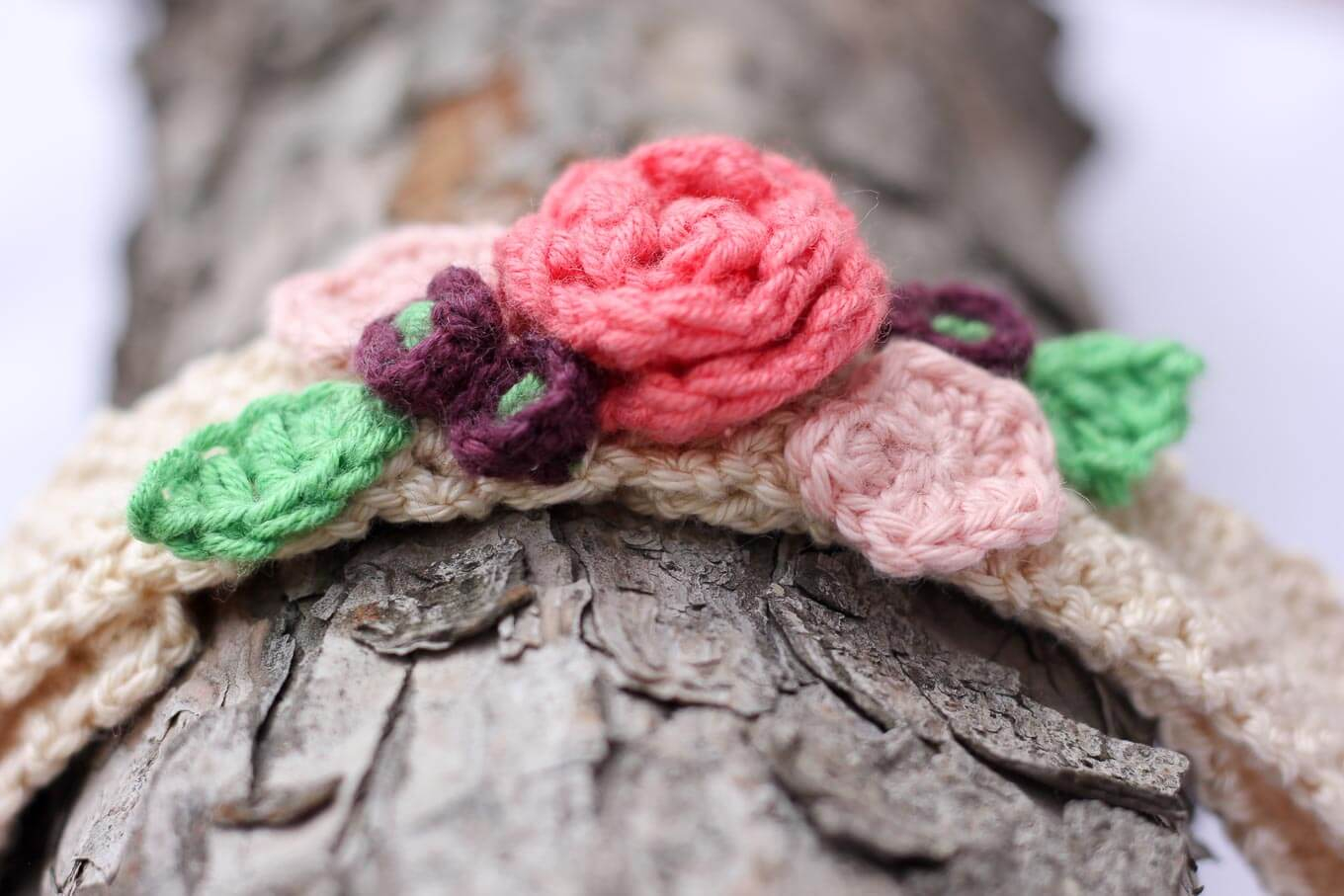 Knitted Headband With Flower Pattern Free Crochet Flower Headband Pattern Ba Toddler Adult
