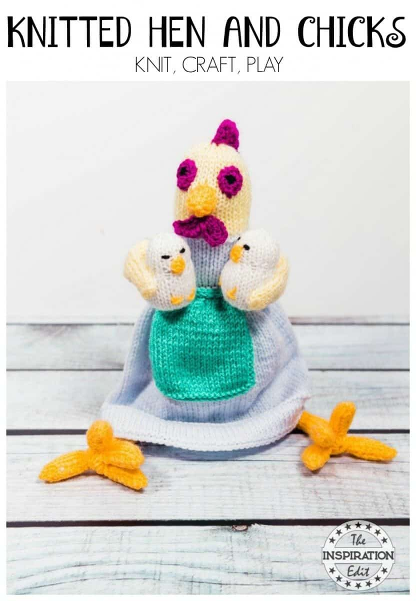 Knitted Hen Pattern Gorgeous Knitted Hen And Chicks Craft The Inspiration Edit