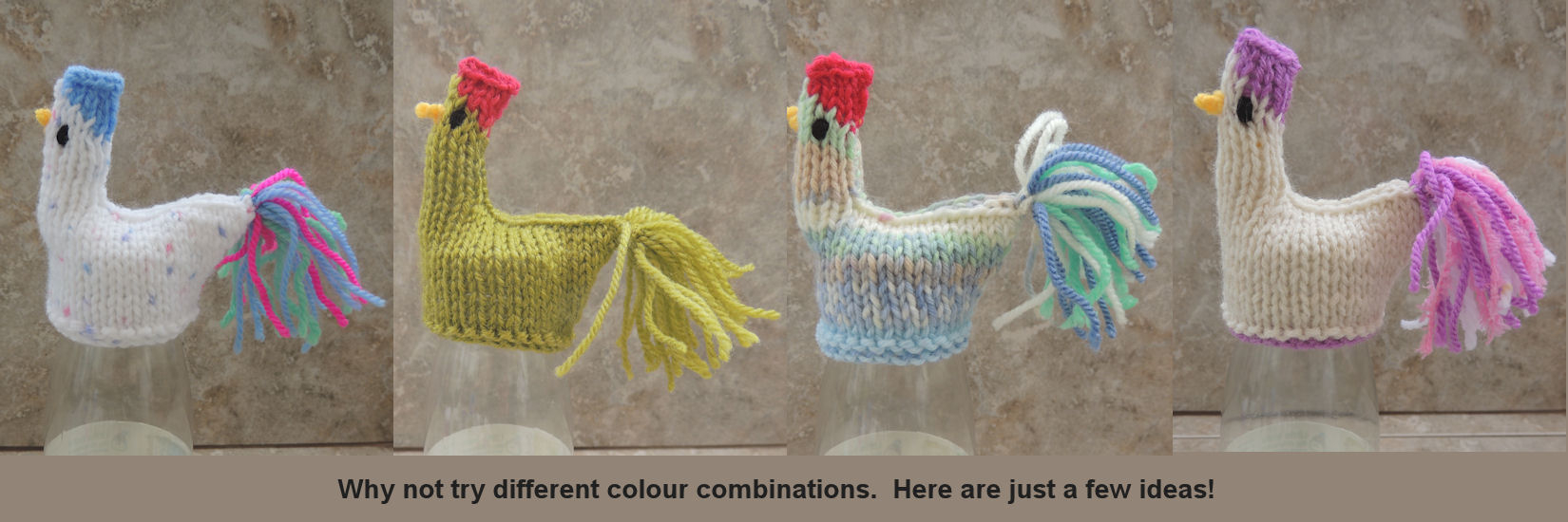 Knitted Hen Pattern Henparty