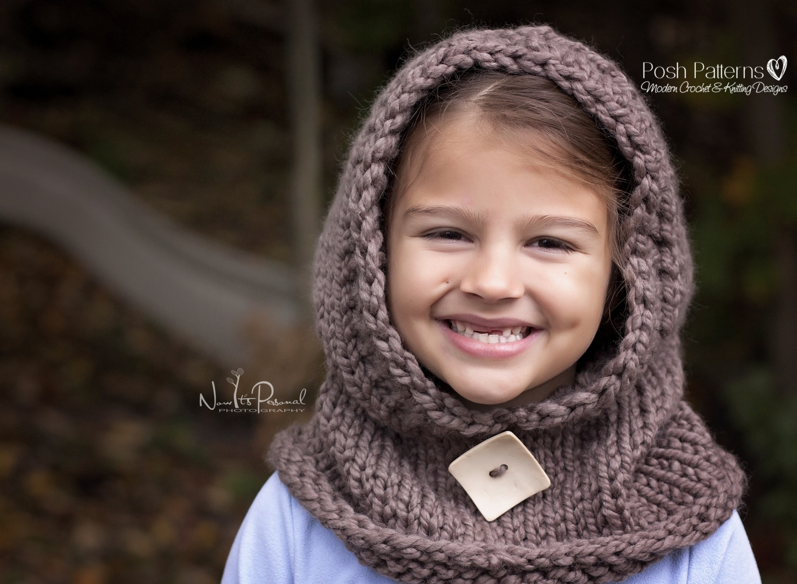 Knitted Hood Scarf Pattern Hooded Cowl Knitting Pattern Hooded Scarf