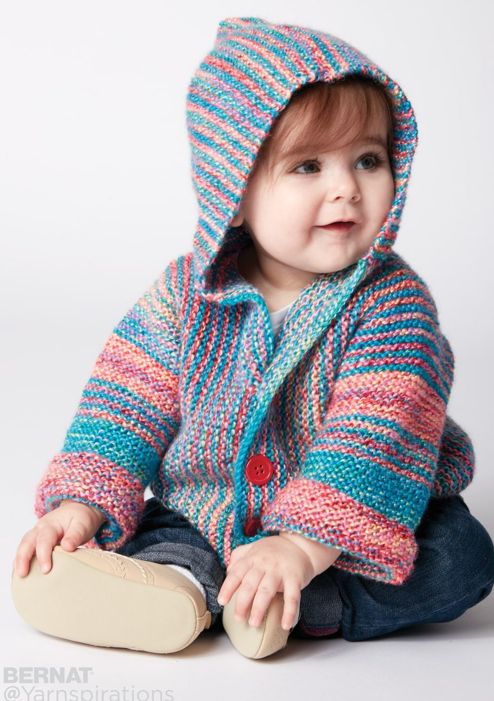 Knitted Jacket Patterns Free Little One Hoodie Knitting Patterns In The Loop Knitting