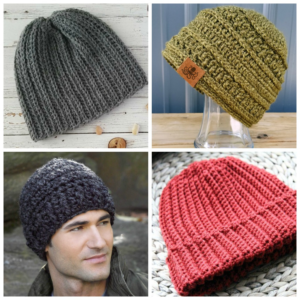 Knitted Mens Hat Patterns 14 Mens Crochet Hat Patterns Simply Collectible Crochet