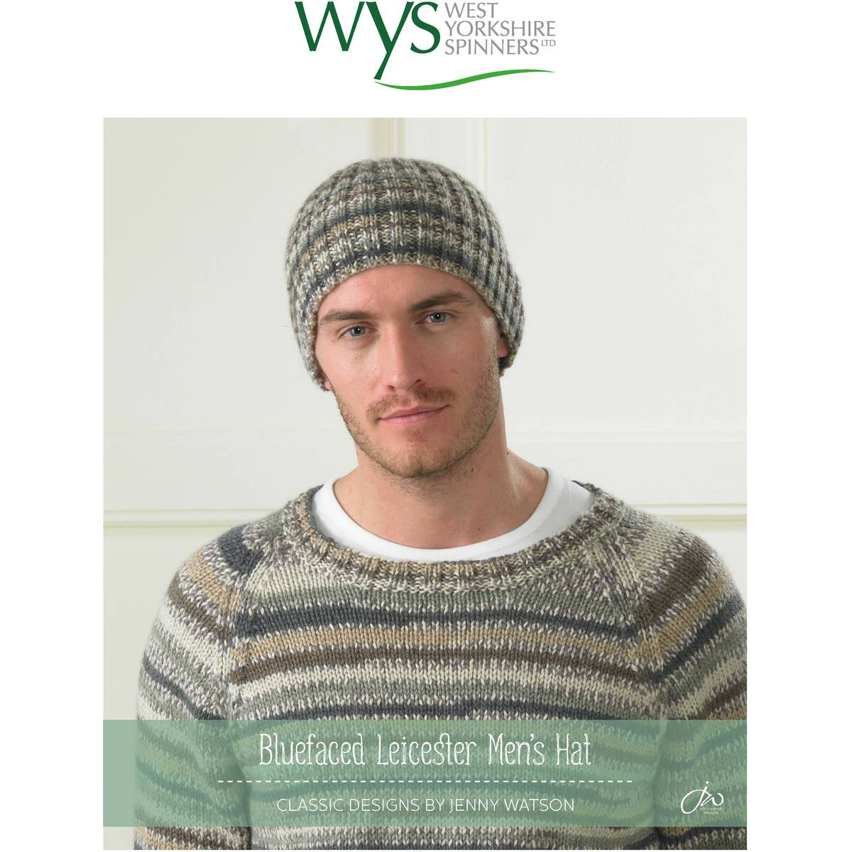 Knitted Mens Hat Patterns Free Pattern West Yorkshire Spinners Bluefaced Leicester Dk Mens
