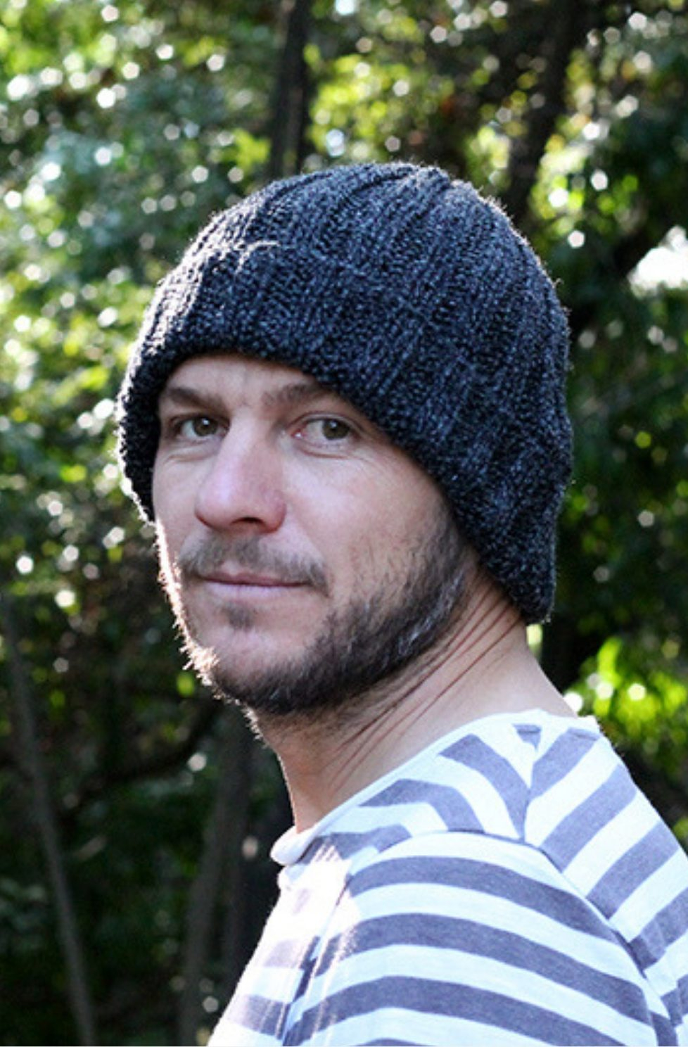 Knitted Mens Hat Patterns Mens Knitting Patterns Archives Handy Little Me