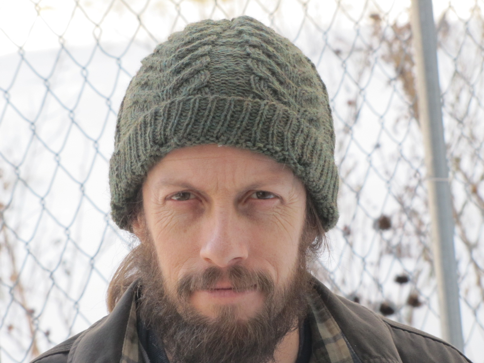 Knitted Mens Hat Patterns Monday Project Report Chips Antler Pine Tree Hat A Polish
