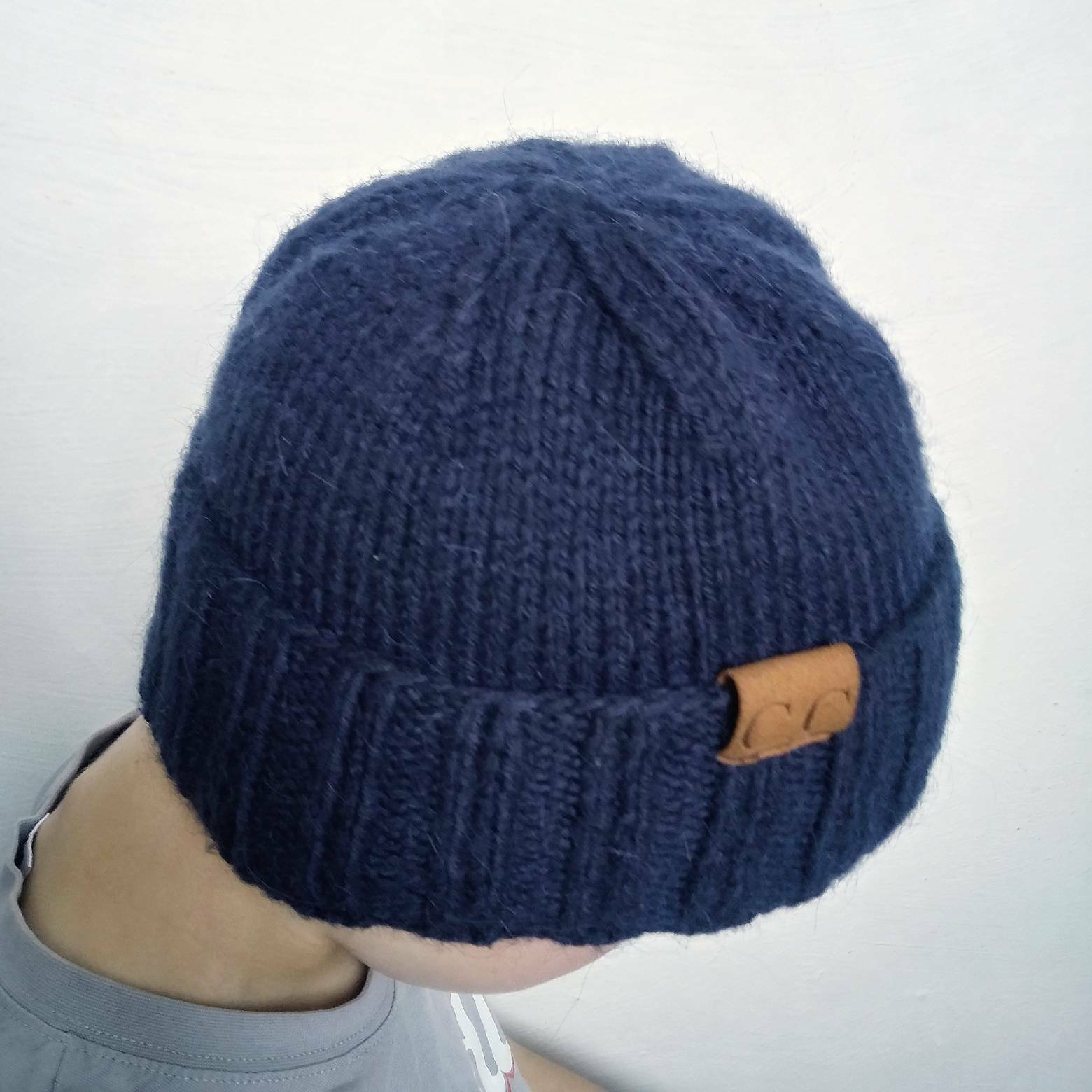Knitted Mens Hat Patterns Pattern Knit Beanie Mens Knit Hats Patterns Knit Mens Beanies Patterns Pdf Pattern Mens Hat Knit Cap Boy Hat For Him