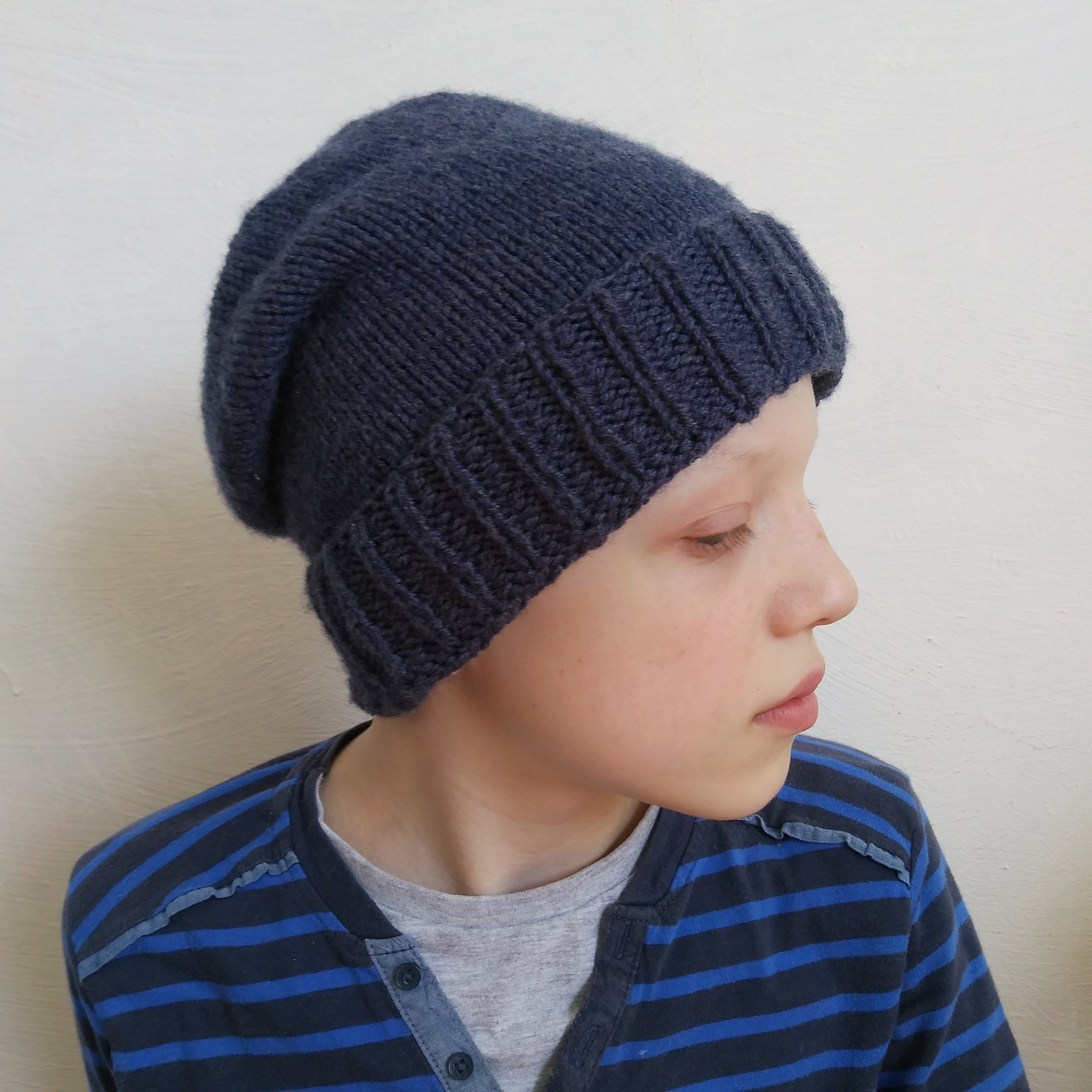 Knitted Mens Hat Patterns Pattern Mens Knitted Hat With Ribbed Edge Pattern Mens Hats Sizes Sm Lxl Hats Mens Patterns Knit Mens Beanies Patterns Mens Hat