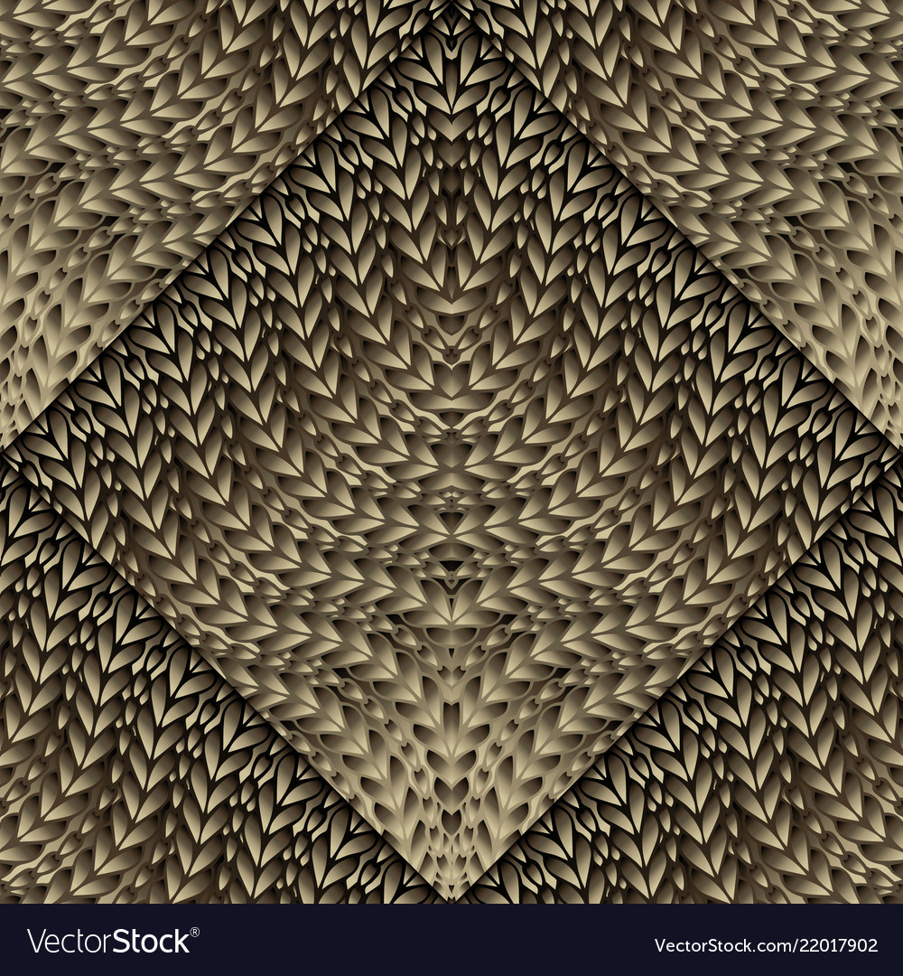 Knitted Pattern Knitted 3d Seamless Pattern Ornamental Knitting