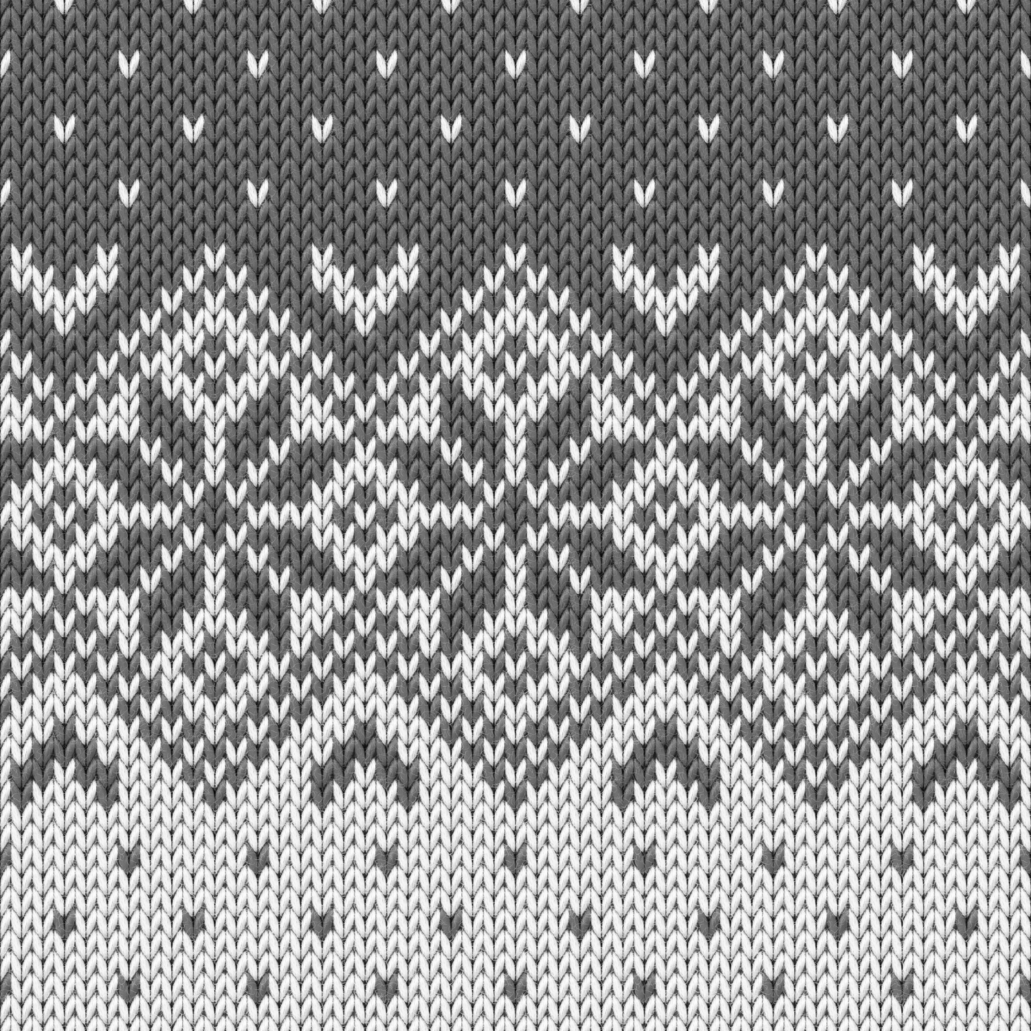 Knitted Pattern Winter Knitted Pattern 8 Duvet Cover
