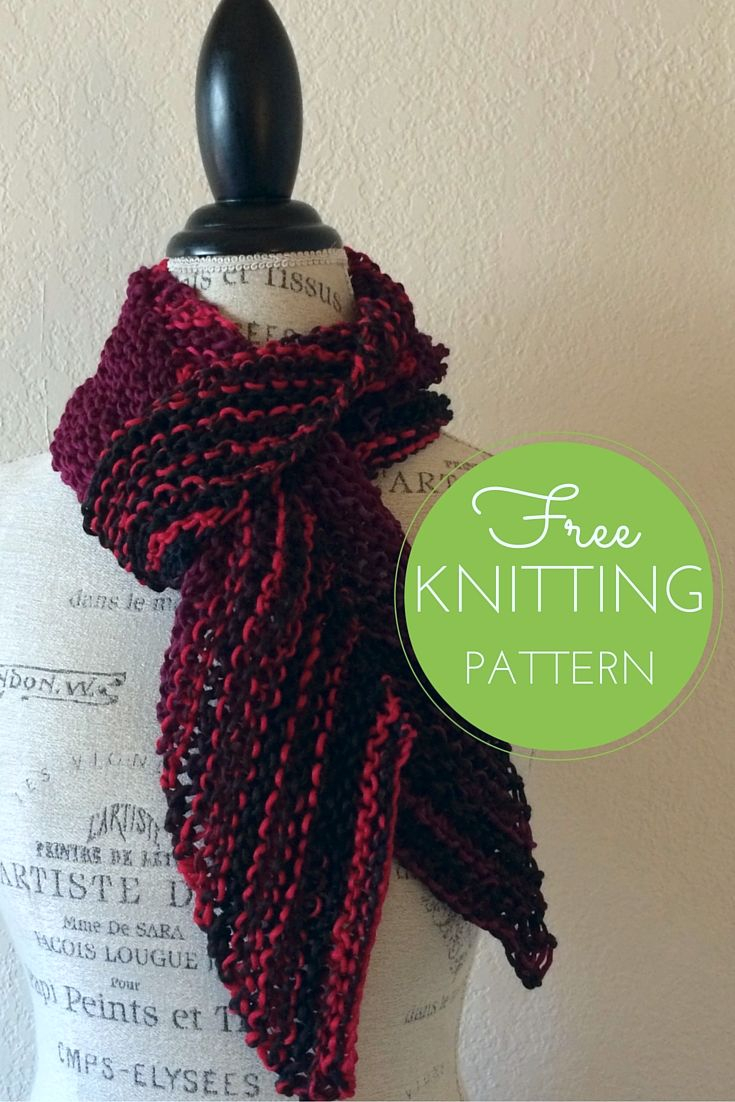 Knitted Scarf Patterns Pinterest 17 Best Images About Knitting On Pinterest To Fix Free Easy