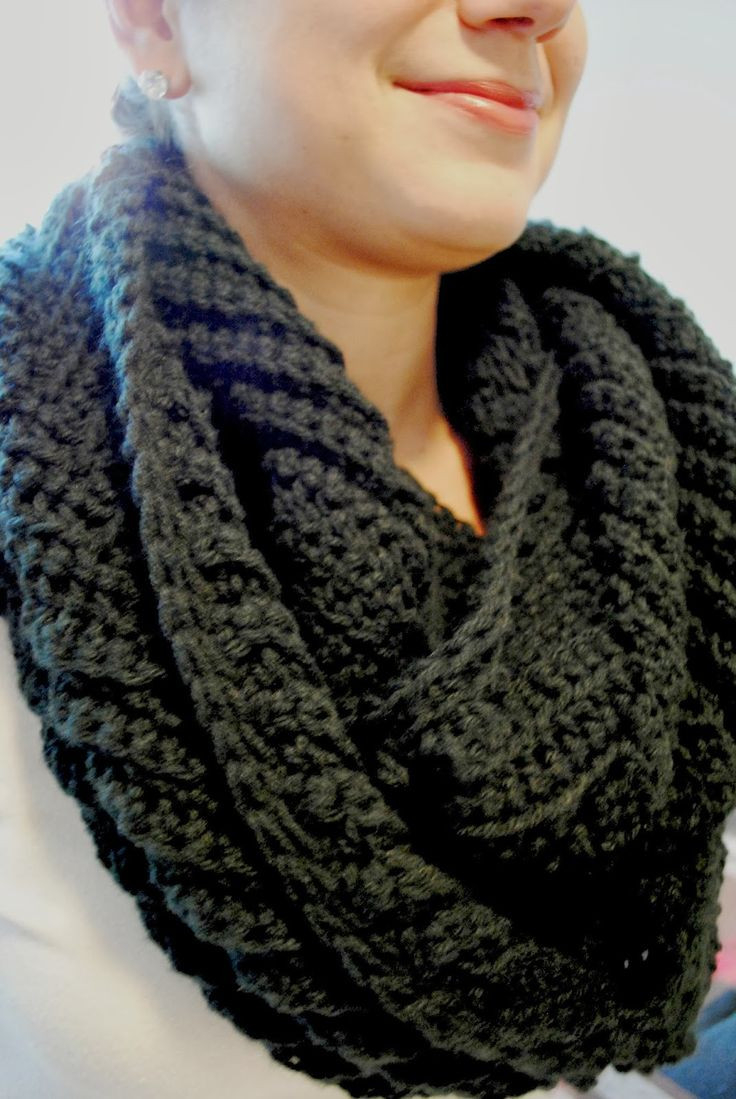 Knitted Scarf Patterns Pinterest Marvelous 49 Photos Chunky Scarf Pattern