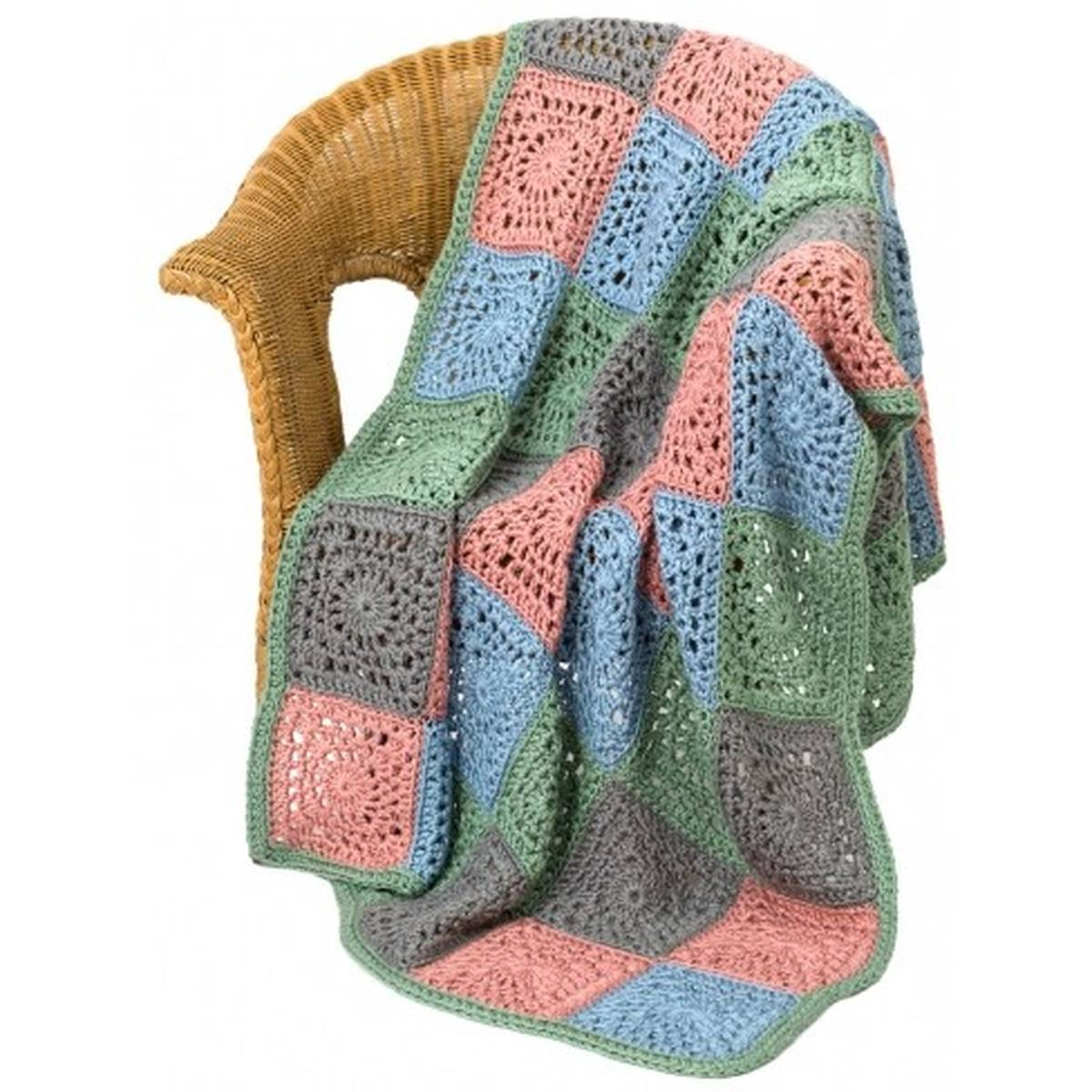 Knitted Squares Patterns Free Free Pattern Caron Random Squares Throw Hobcraft
