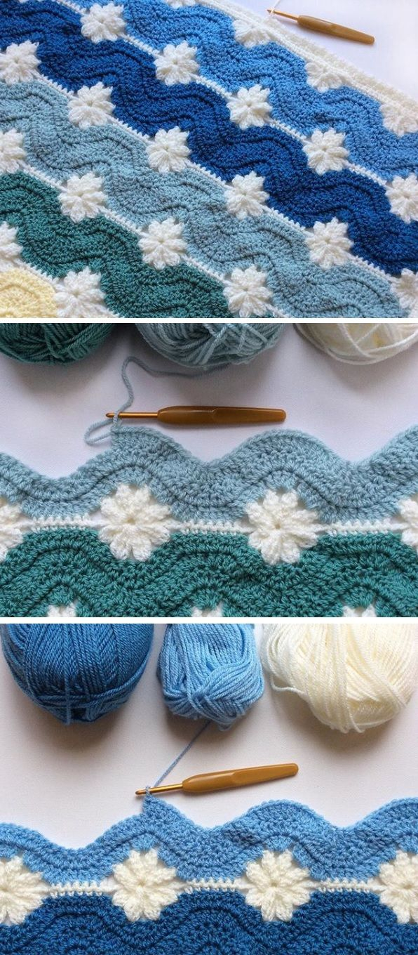Knitted Squares Patterns Free Knitting Patterns Yarn Free Pattern Blanket From Embossed And