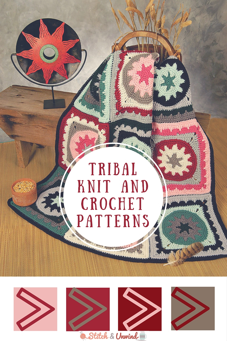 Knitted Squares Patterns Free Tribal Patterns Free Knit Crochet Patterns Stitch And Unwind