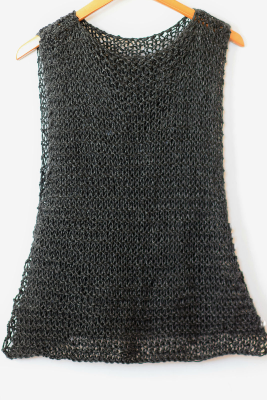 Knitted Tank Top Patterns Easy Little Black Tank Top Knitting Pattern Mama In A Stitch