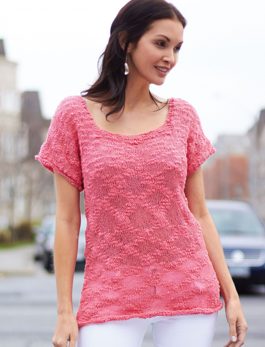 Knitted Tank Top Patterns Tops Tanks Tees Knitting Patterns In The Loop Knitting