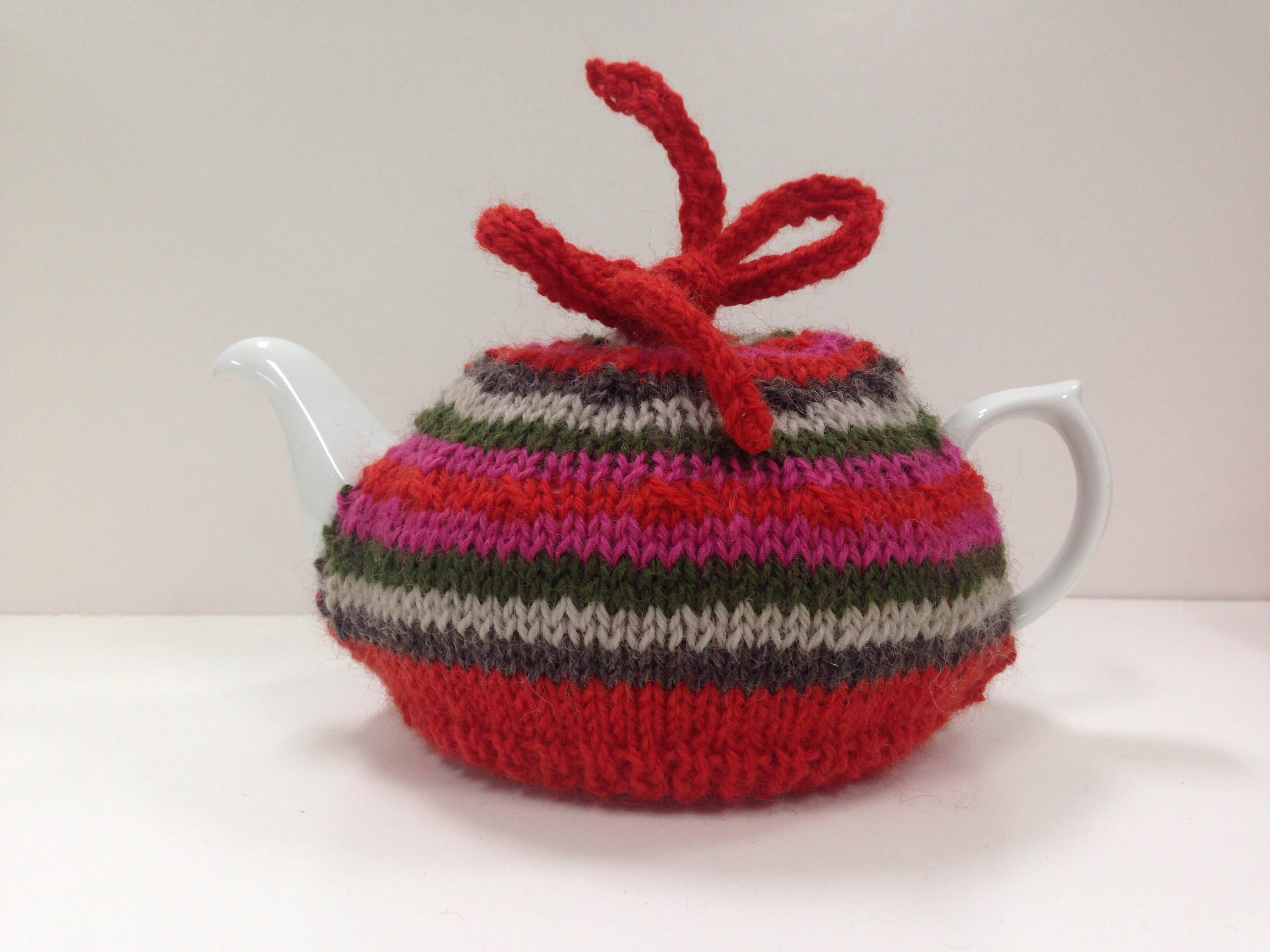 Knitted Tea Cosy Pattern Easy Get Cosy Free Tea Cosy Pattern Lincraft Lincraft