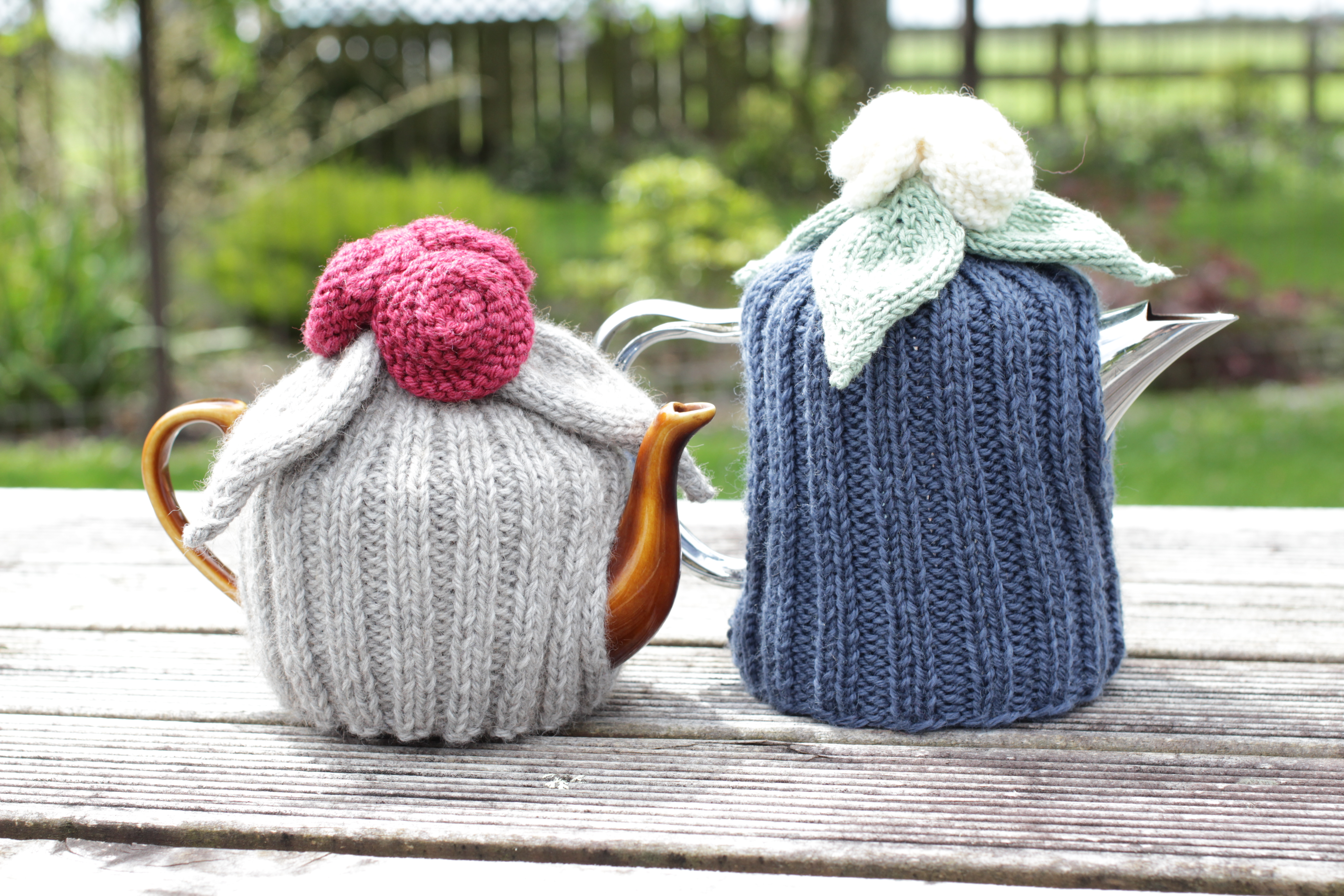 Knitted Tea Cosy Pattern Easy Knitting Pattern Rosalind