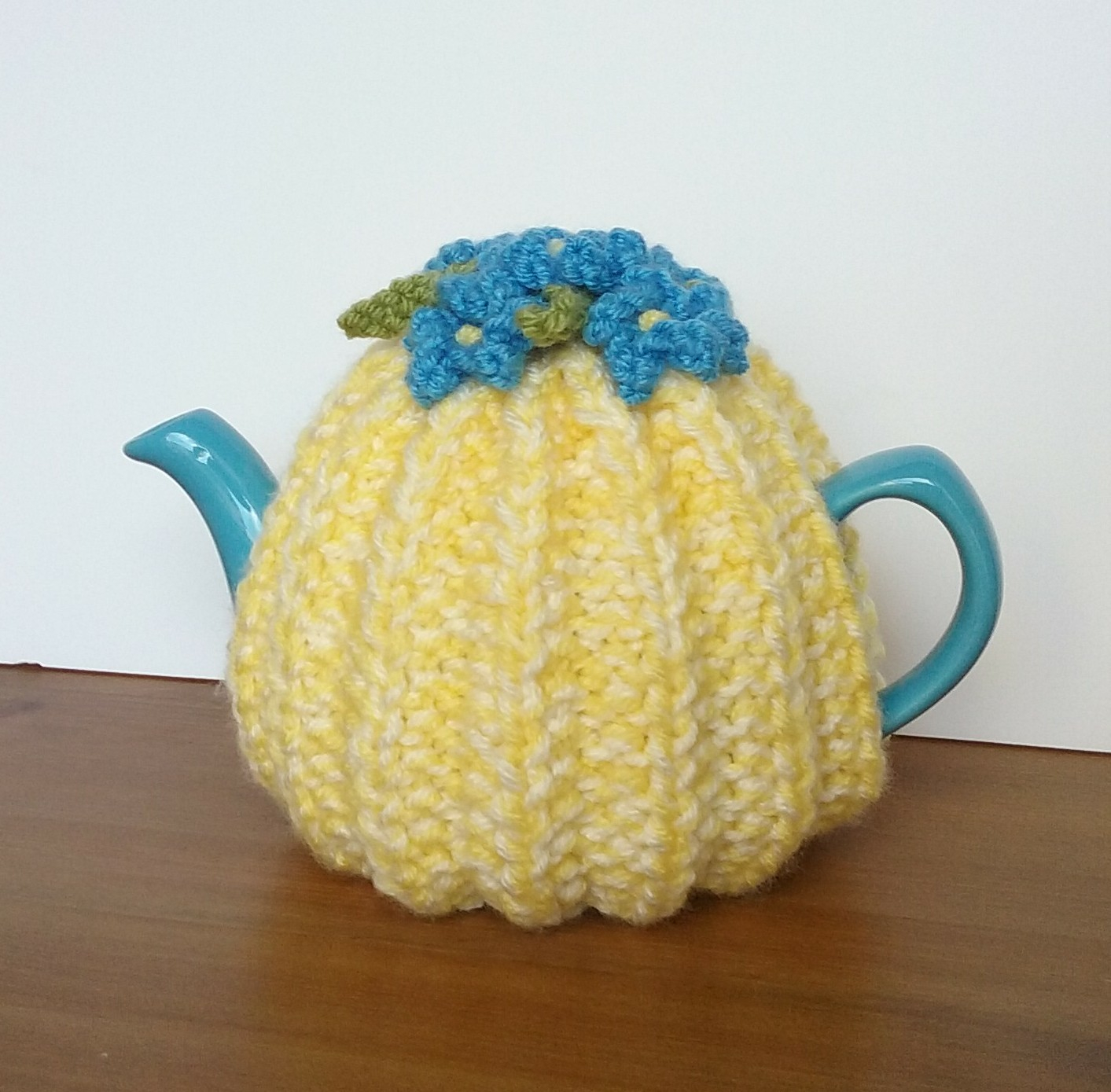 Knitted Tea Cosy Pattern Easy Linmary Knits Rib One Cup Tea Cosy