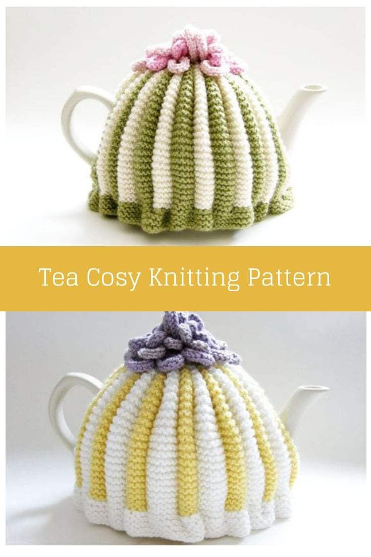 Knitted Tea Cosy Pattern Easy Retro Tea Cosy Pattern Free Knitting Patterns Handy Little Me
