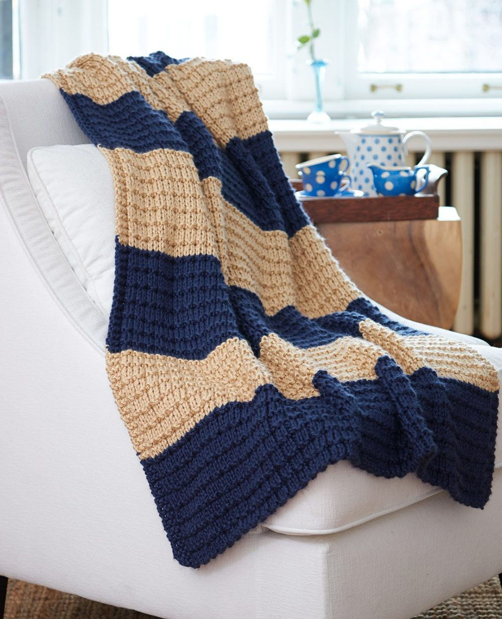 Knitting Afghan Patterns Free Mary Maxim Free Easy Breezy Afghan Pattern