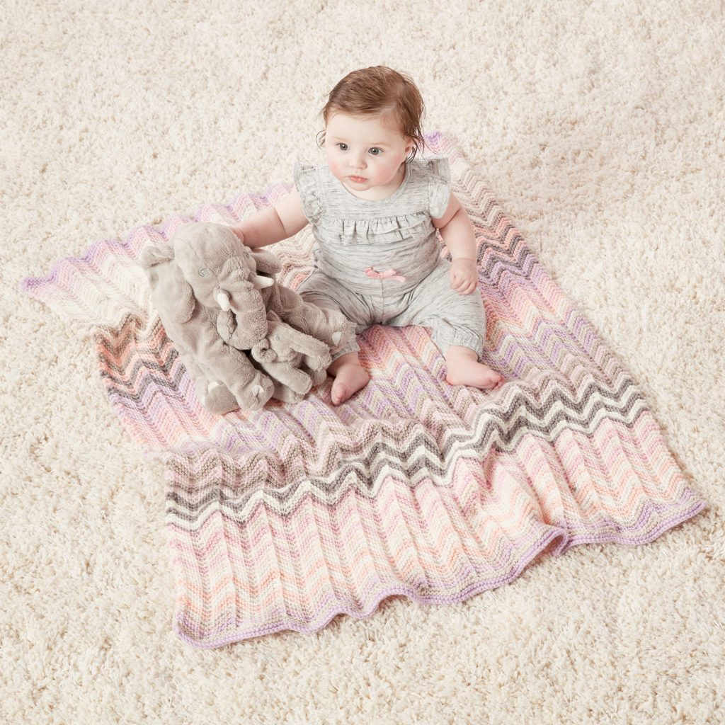 Knitting Baby Blankets Patterns Free Free Ripple Stitch Ba Blanket Knitting Patterns Patterns